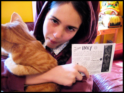 Inky, Mungo and Issue 23