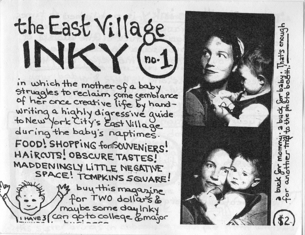 East Village Inky 1st Issue cover