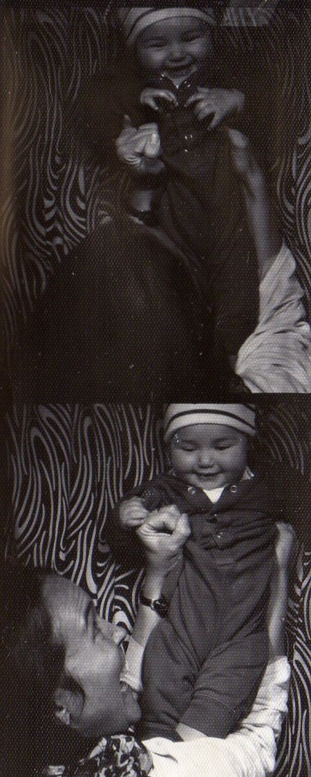 photobooth strip ayun and inky circa 1997